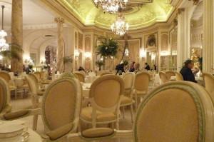 חדר התה של מלון הריץ' (קרדיט: clogsilk)