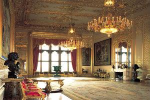 חדרים מצופי זהב (קרדיט: Mark Fiennes)